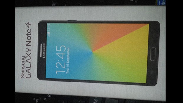 Claimed Samsung Galaxy Note 4