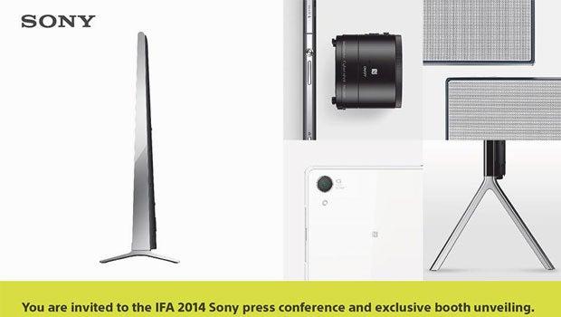 Sony's IFA Invite