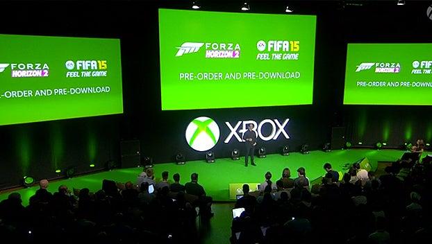 Xbox One pre-downloads