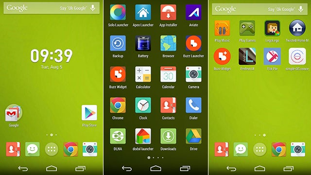 Google gasi Google now launcher