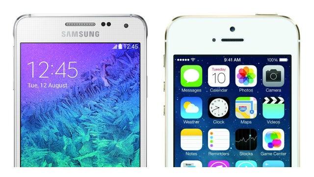 iPhone vs Alpha