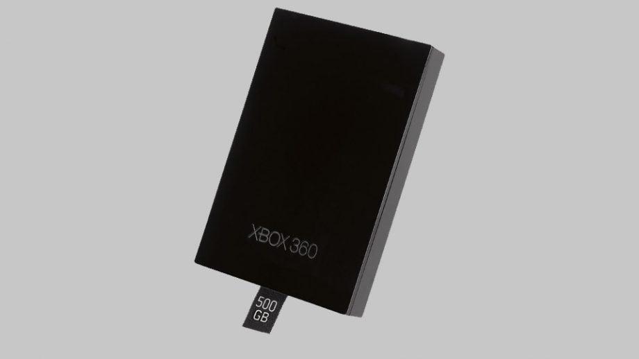 xbox 360 500gb hdd