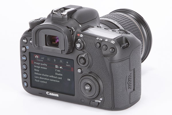Canon EOS 7D MKII – Viewfinder and AF Review | Trusted Reviews