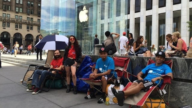 iPhone 6 campers