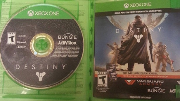 Destiny Xbox One install size is 40GB | Trusted Reviews