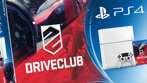 DriveClub White PS4 bundle