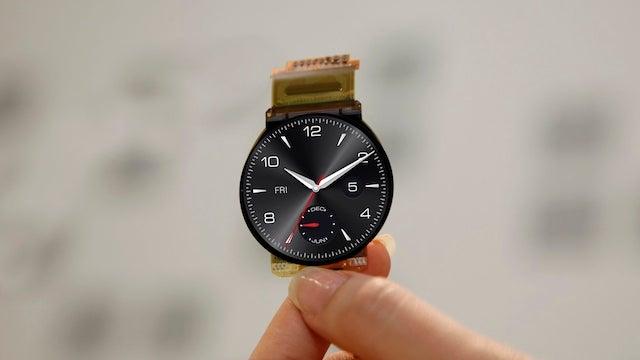 LG G Watch R display