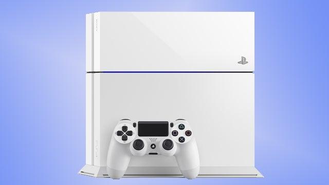 Glacier White PS4