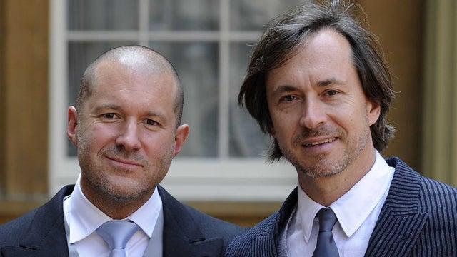 Apple's Jony Ive and designer Marc Newson