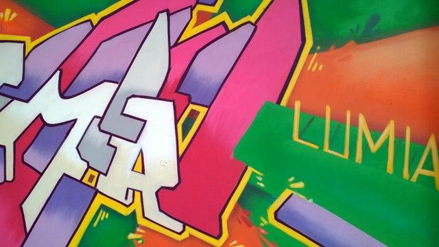 Lumia graffiti