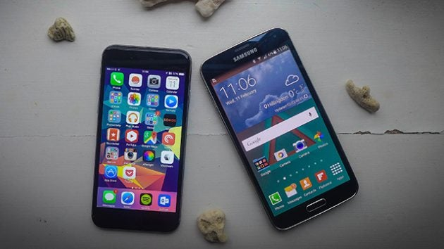 iphone 6 vs samsung galaxy s5 do you go apple or android