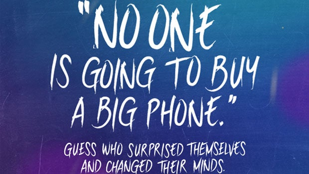 Samsung mocks the iPhone 6 Plus