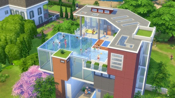 The sims 4 tips tricks and cheats trusted reviews for Construire une maison les sims 4