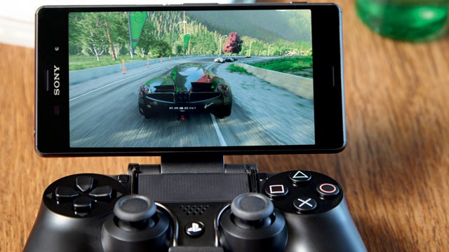 Sony Xperia Z3 and the Game Control Mount