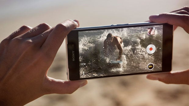 Sony Xperia Z2 4K video recording