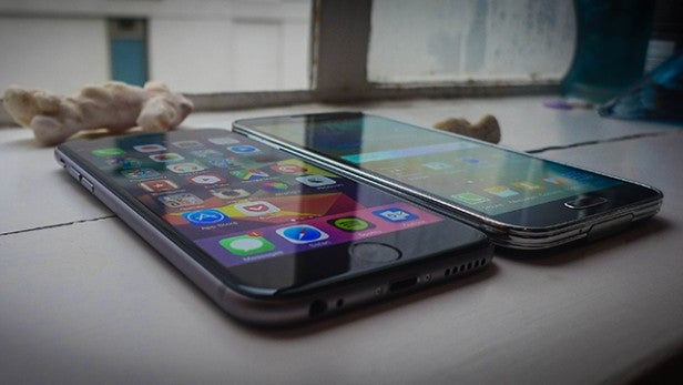 Iphone 6 Vs Samsung S5 Edge