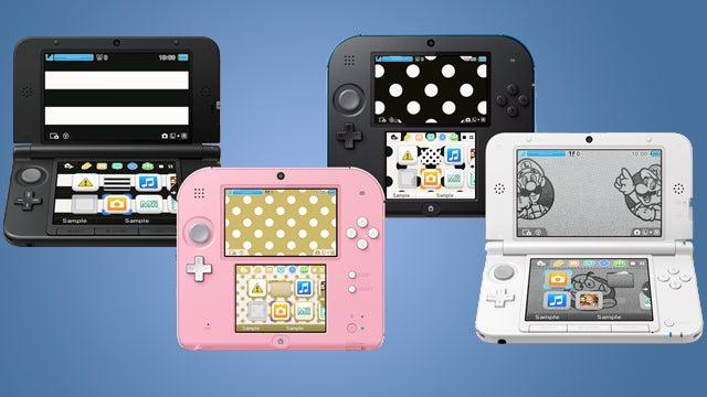 Nintendo 3DS themes
