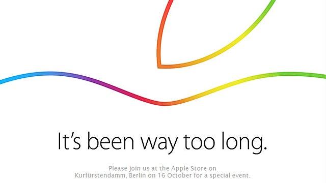 Apple iPad invite