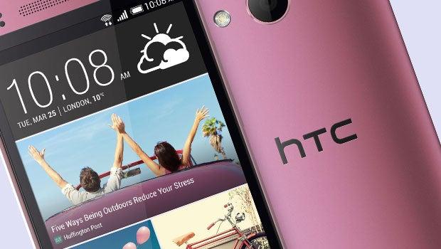 Pink HTC One Mini 2