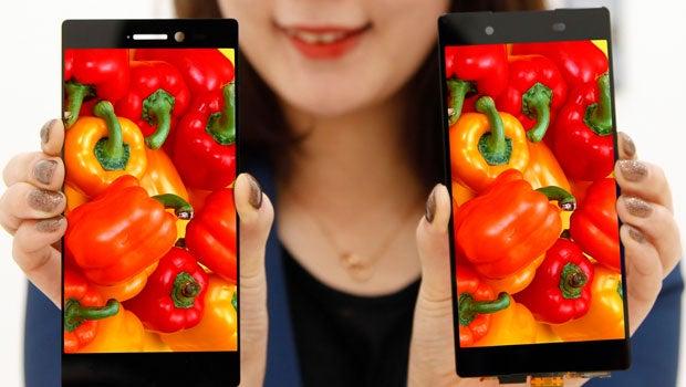 LG's new smartphone screen