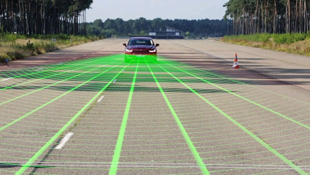 ford pedestrian detection