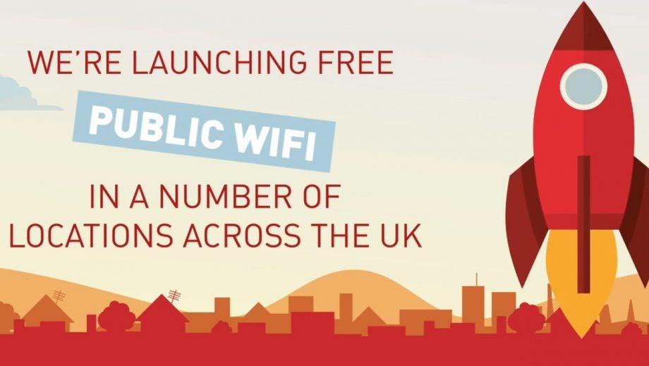 Free wifi UK