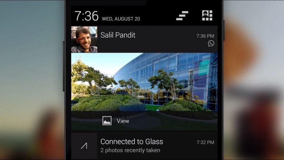 Glass notifications