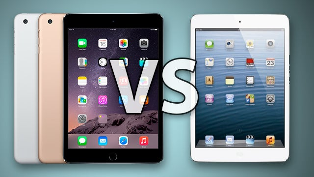 iPad mini 3 vs 2