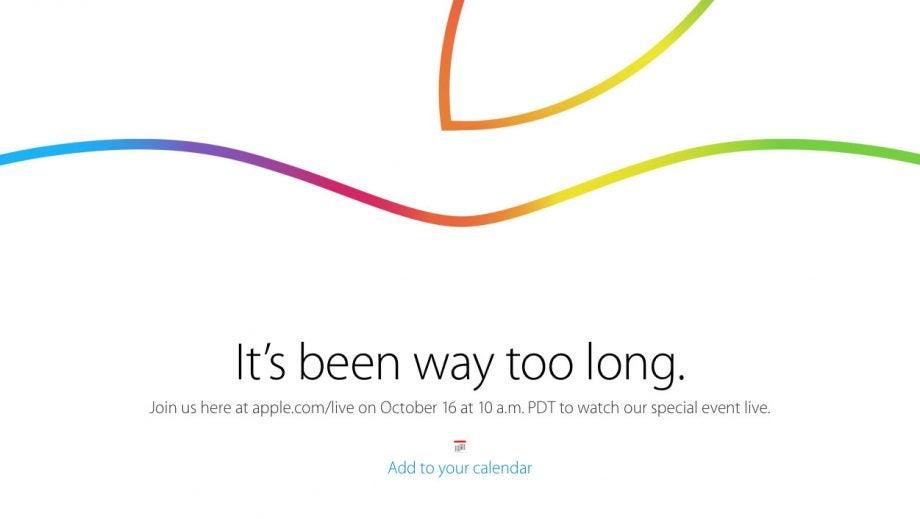 iPad event