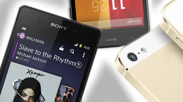 Smartphone buying guide 2014: phone camera features compared.