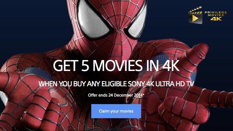 Sony 4K promo