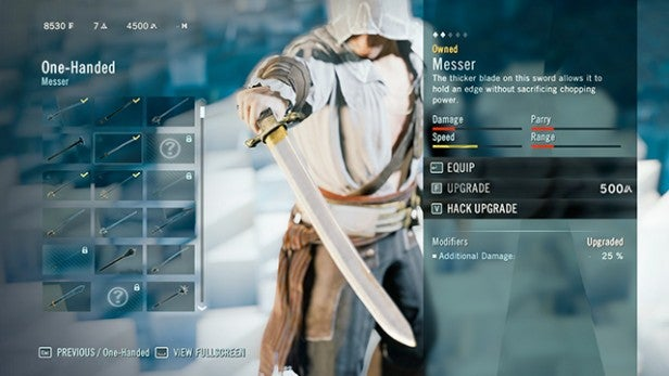 Assassin's Creed Unity weapons