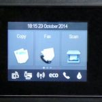 HP Officejet 5740 - Controls