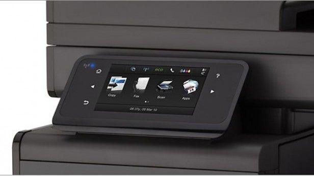HP Officejet Pro X576DW MFP - Controls
