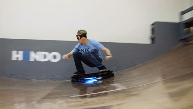 Video Hendo Hoverboard Put To The Test By Tony Hawk
