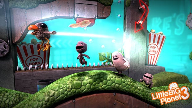 LittleBigPlanet Review Trusted Reviews - Little big world map