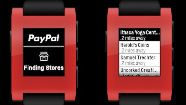 Pebble adds PayPal support