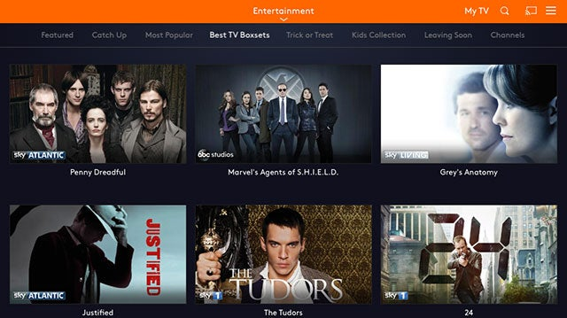 best box sets on now tv