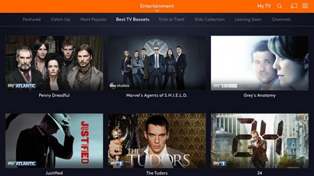Now TV app Review   Trusted Reviews