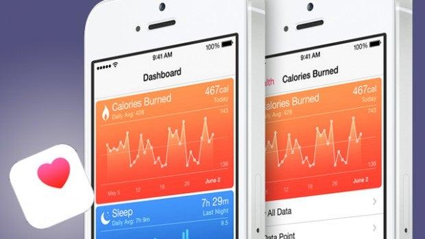The Health app in iOS 8
