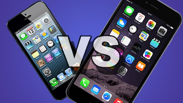 iPhone 5 vs iPhone 6 Plus: Is it time to upgrade ...