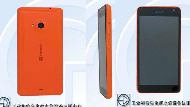 Microsoft Lumia device