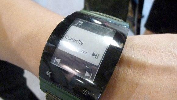 Sharp smartwatch display