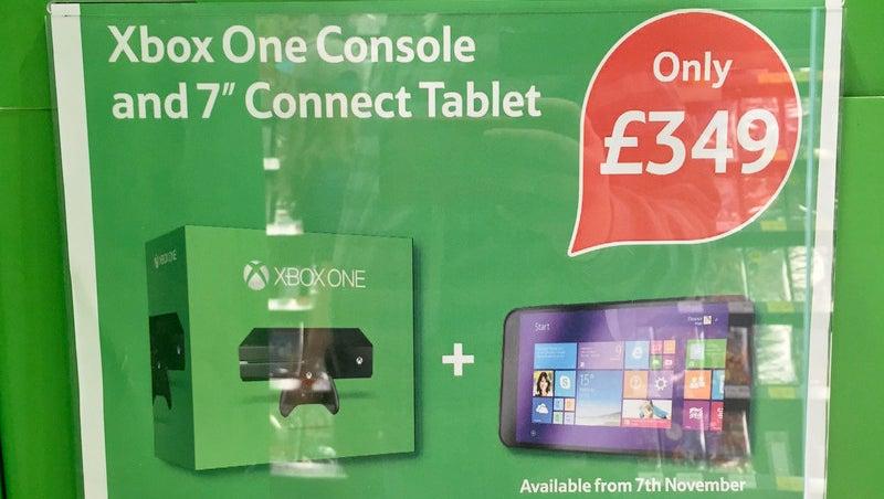 Tesco Windows tablet