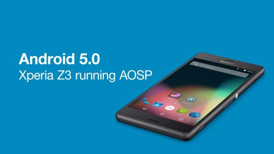 Sony Xperia Z3 AOSP