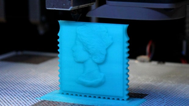 3D printed stamp