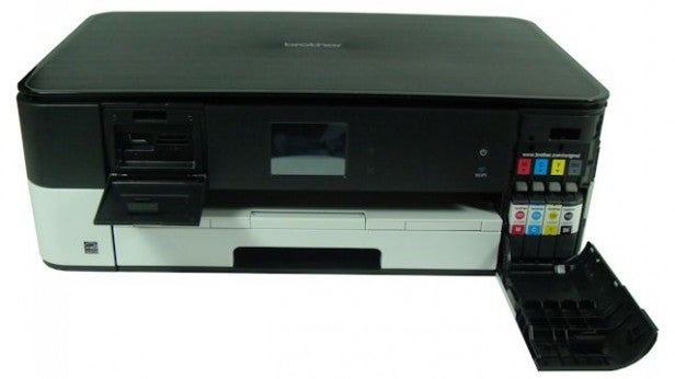 Brother DCP-J4120DW - Cartridges & Card Slots
