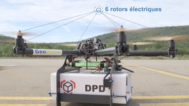 French Postal Service Successfully Trials Delivery By Drone