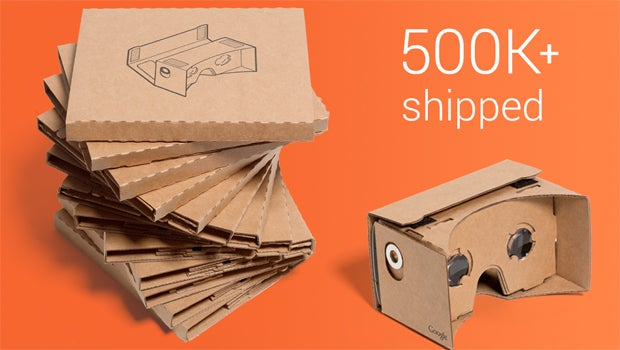 Google Cardboard VR headset has shipped 500k, new specs available