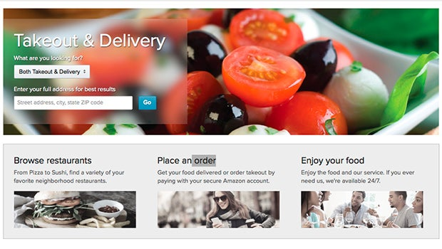 Amazon Launches Just Eat Style Takeaway Service Trusted